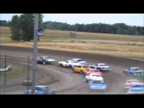 8/4/13 Amain for the Sheyenne River Speedway Hobby stock