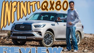 2018 Infiniti QX80 Review - In Yer Face!