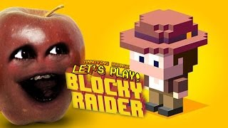 Midget Apple Plays - BLOCKY RAIDER!