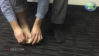 How to use the DR JK Bunion Relief and Toe Separator BunionPal Kit to cure your Bunions! (DP69)