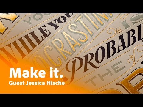 Jessica Hische Shares Her Original Student Portfolio & Dealing With A Famous Filmmaker At 4am