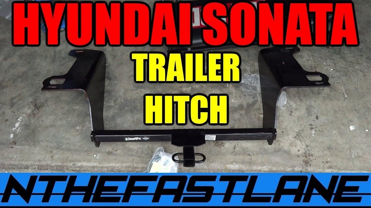 Hyundai Sonata Trailer Hitch Install 2017