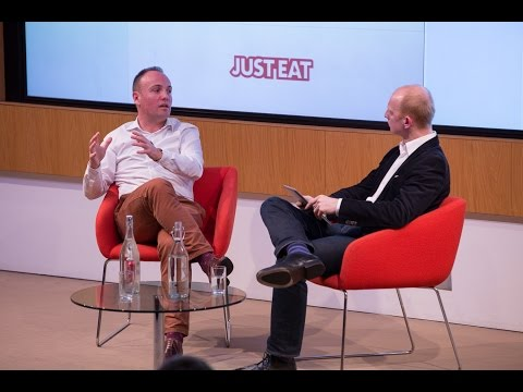 Startup Grind London Talk with David Buttress, Group CEO of JUST EAT