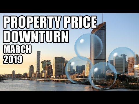 Property Price Downturn Not Just in Sydney and Melbourne (March 2019)