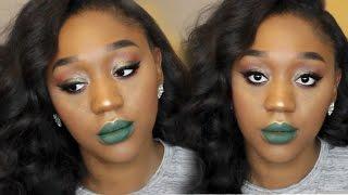 Faux Freckles & Green Lips   2016