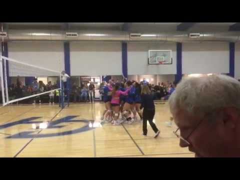 South Puget Sound at Grays Harbor College volleyball - Chokers match point