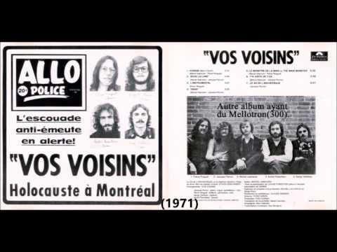 Les 1ers Mellotrons Au Québec.(De:Guy...