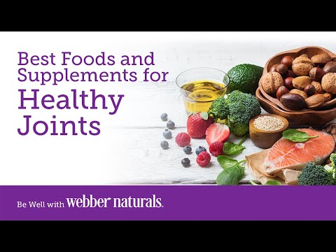 Best Foods and Supplements for Healthy Joints
