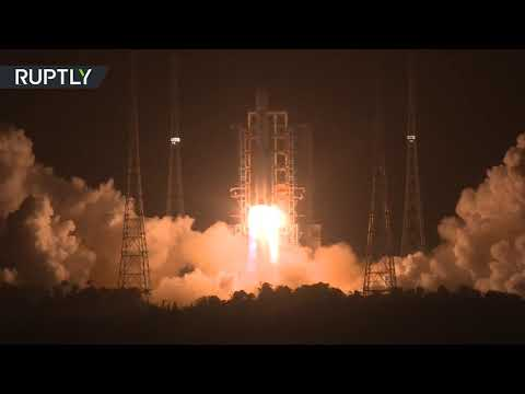 RT: Moon Mission   China launches spacecraft to gather lunar rocks