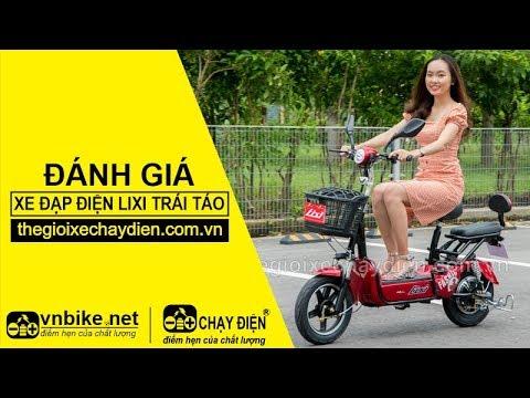 Đánh giá xe đạp điện Lixi Trái Táo