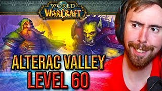 Asmongold Takes Part In The 15th Anniversary Alterac Valley Event At Level 60 Patch 8.2.5 Ptr