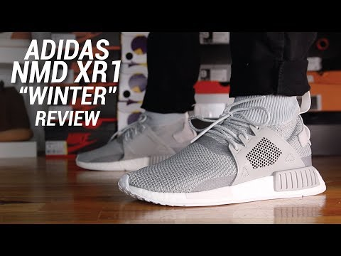 Adidas XR1 Winter Pack On Feet at