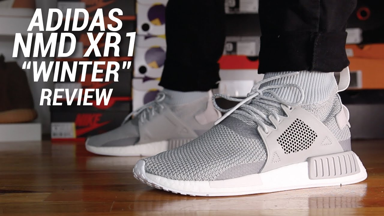 a165771e0d9f6 ADIDAS NMD XR1 WINTER REVIEW - YouTube