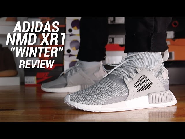 ADIDAS NMD XR1 WINTER REVIEW - YouTube