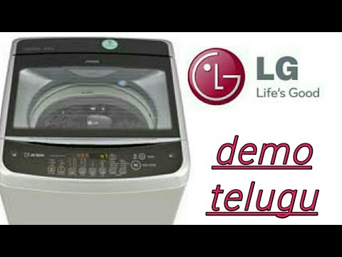 Lg top load washing machine demo telugu