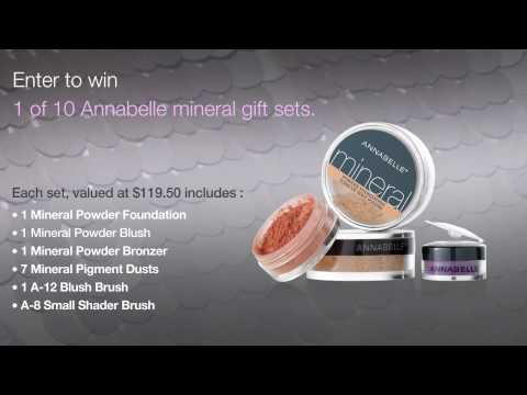 *CLOSED* Annabelle Cosmetics - Mineral line launch - CONTEST!!!