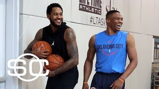 What pushed Melo trade through? | SportsCenter | ESPN thumbnail