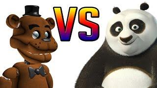 Freddy VS Kung Fu Panda