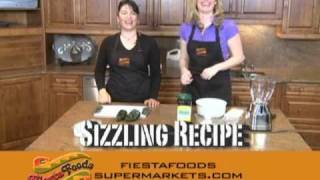 Fiesta Foods Sizzling Recipe: Chile Relleno (cheese Stuffed Pasilla Peppers) - Part 1