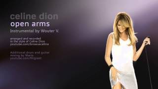CELINE DION - OPEN ARMS INSTRUMENTAL HD BY WOUTERV