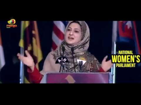 Jammu and Kashmir MLC Shehnaz Ganai Speech At National Women's Parliament Conference | Mango News