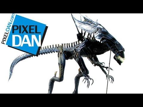 Neca Aliens Deluxe Alien Queen Action Figure Video Review - aliens xenomorph queen deluxe figure