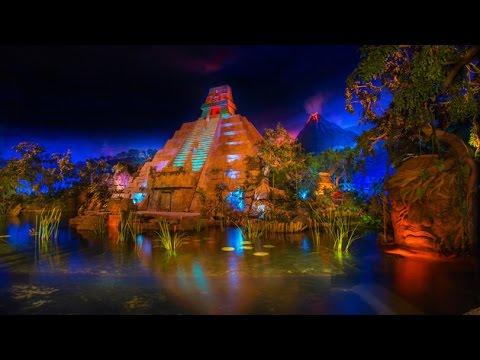[HD] Gran Fiesta Tour starring the Three Caballeros: Epcot Mexico Boat Ride Disney World - Low Light