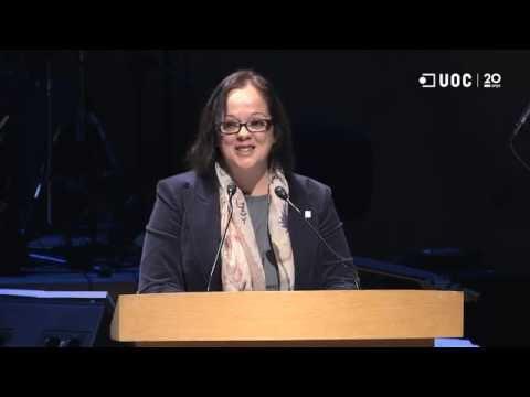 Marta Capdevila_Discurs de la representant dels graduats del curs 2014-15