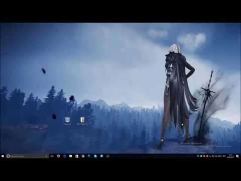How To Get An Animated Wallpaper Windows 10 Bdo Dark Knight Desktop Wallpaper Video Youtube