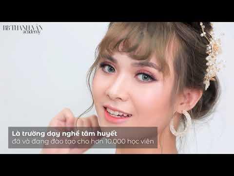 Trang điểm cô dâu cực ấn tượng – Trường nghề – BB Thanh Vân