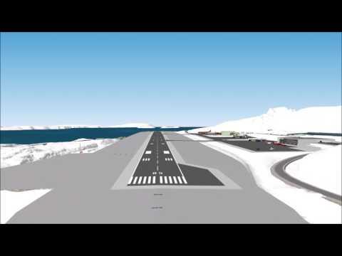 2017 03 13 NUUK Lufthavn HD