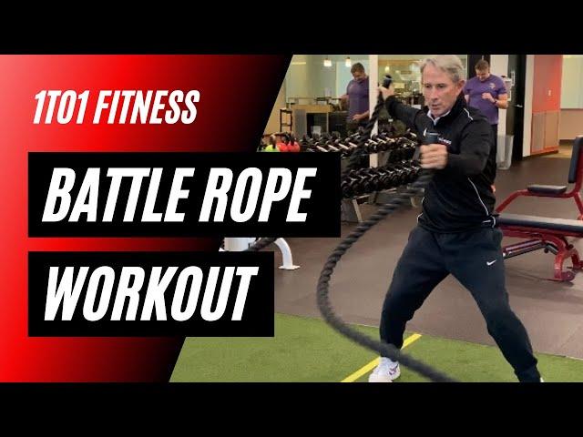 ADVANCED Battle Rope Exercises!