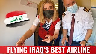 Review: IRAQ's BEST AIRLINE? FlyBaghdad Airlines CRJ 200 in Economy Class!