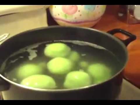 Che Troi Nuoc - Glutinous Rice Balls Pudding (part 3 of 3)