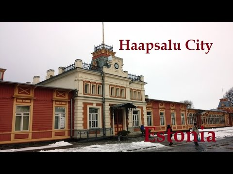 Haapsalu City  Estonia