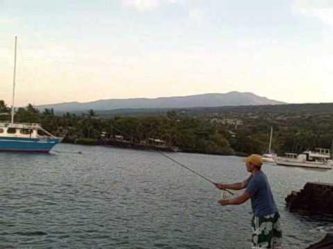 Troutsiders fly fishing big island hawaii youtube for Fishing big island hawaii