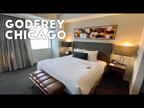 The Godfrey Hotel Chicago Room Tour