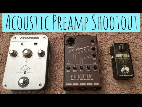 Acoustic Preamp Shootout