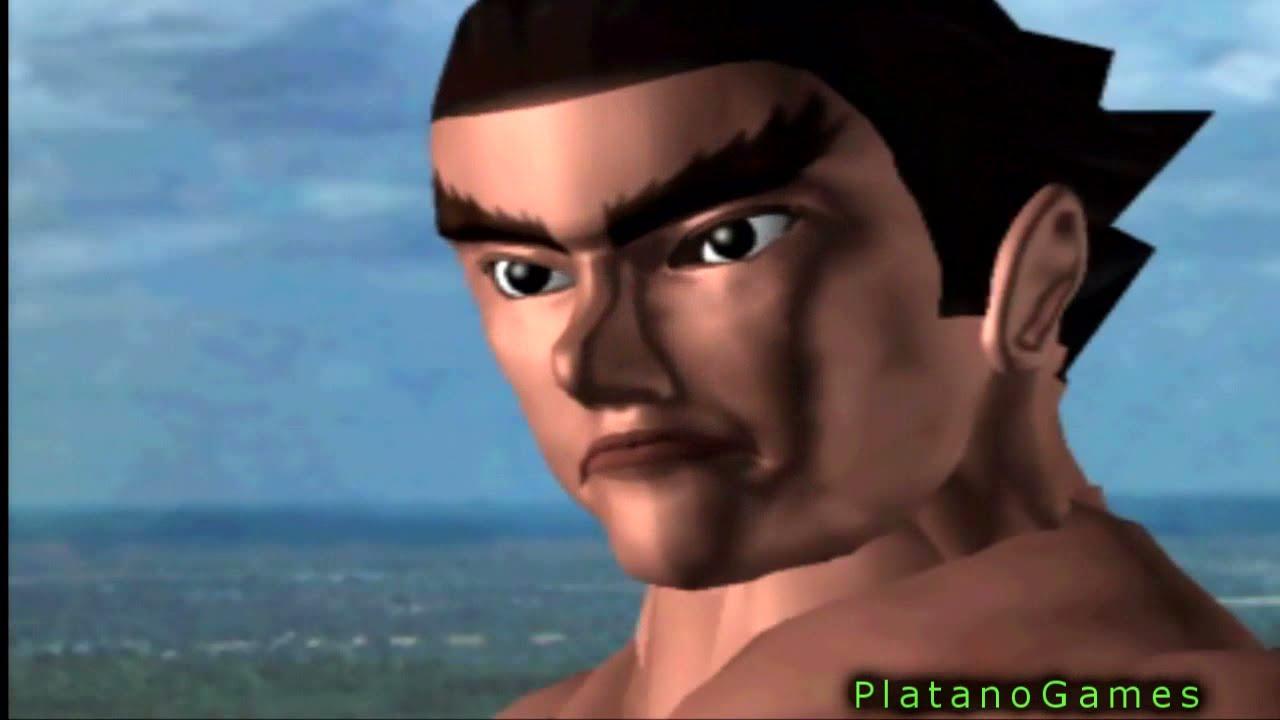 Tekken 1 Kazuya Mishima Ending Hd