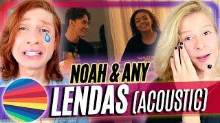 Baixar REACT Now United - Noah & Any - Lendas (Acoustic)   Acorda, Berenice!