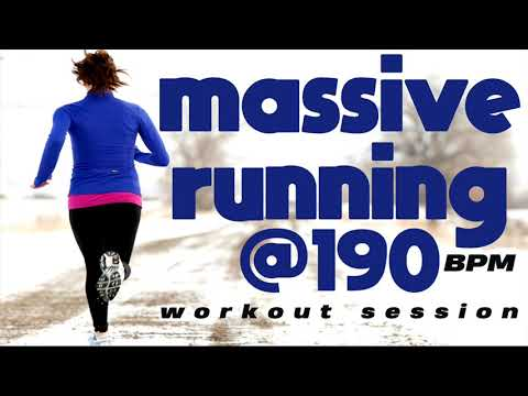 Massive Running Workout Session (Mixed Compilation for Fitness & Workout @190 Bpm)