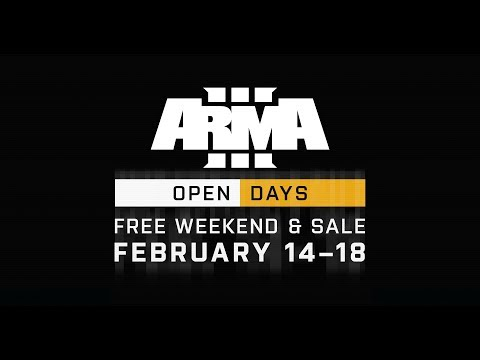 Arma 3 - Бесплатные выходные с 14 по 18 февраля в Steam