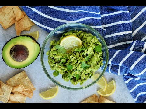 HEALTHY Appetizer Recipe: Avocado Edamame Dip by Everyday Gourmet with Blakely
