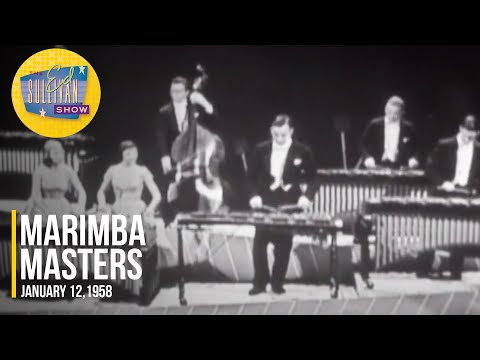 """Marimba Masters """"What Child Is This (Greensleeves)"""" on The Ed Sullivan Show"""