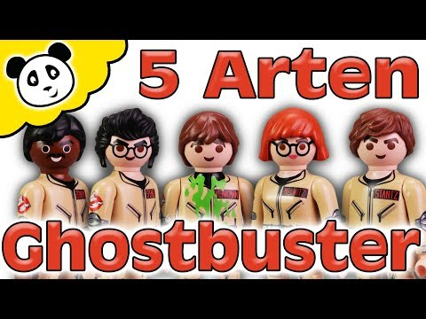 Playmobil Ghostbusters - 5 Arten von Ghostbusters - Playmobil Film