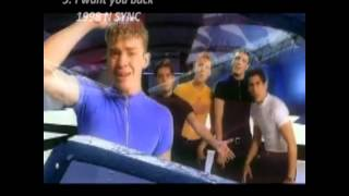 Top 10 Nsync Hits Of All Time
