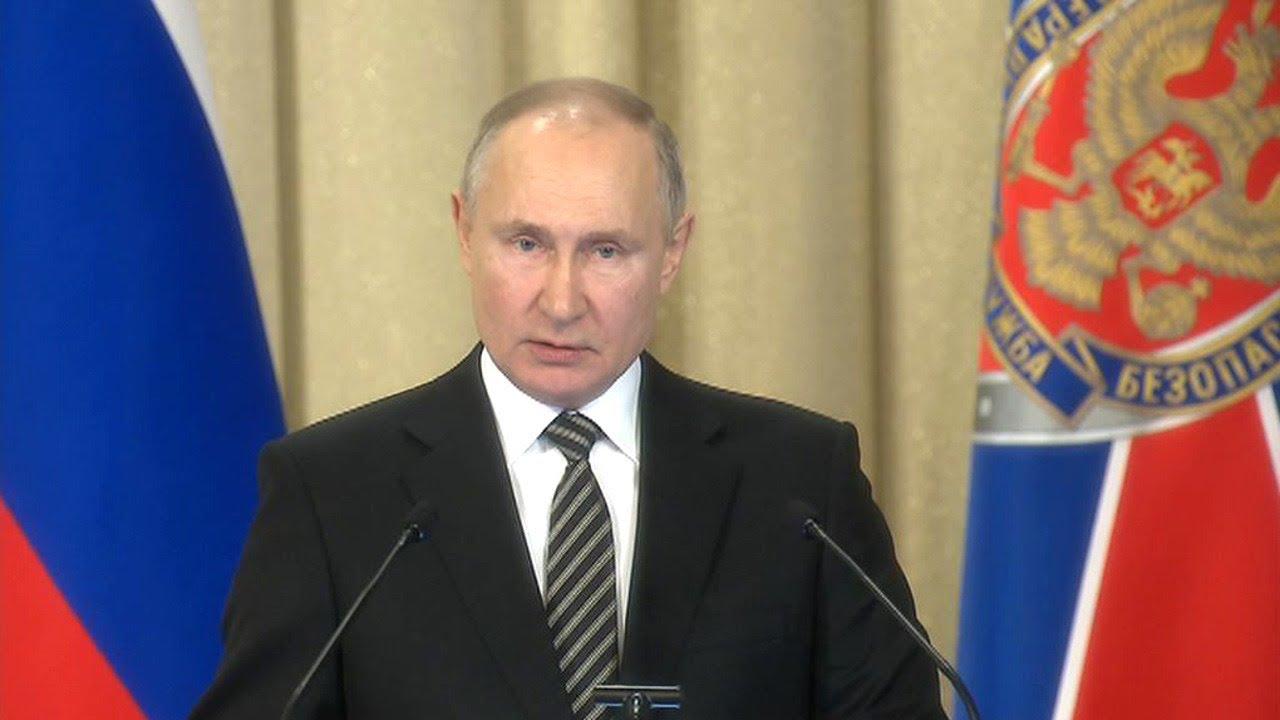 Владимир Путин проводит рабочие встречи (25.02.21)