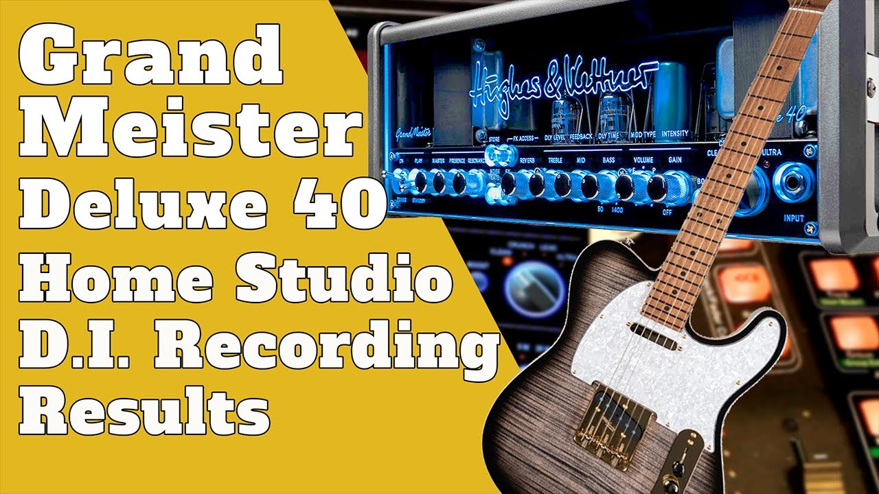 Guitar Recording Techniques  | Tube Amp, Speaker Sim and Cab IR Loader | The Results