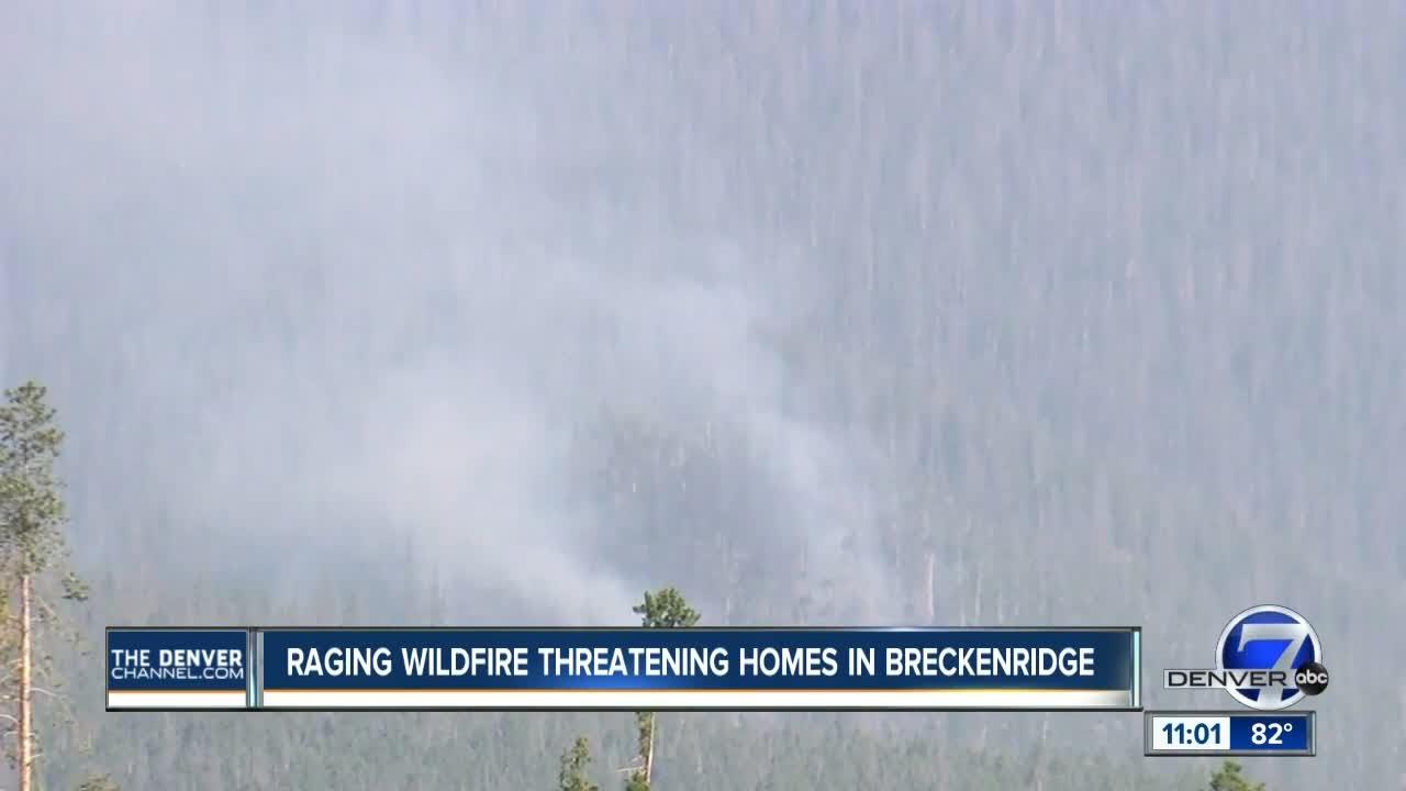 Elite crews taking over Peak 2 Fire near Breckenridge; hundreds remain evacuated