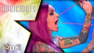Alexia logra espantar a Jorge Javier Vazquez del plató | Audiciones 1 | Got Talent España 2017